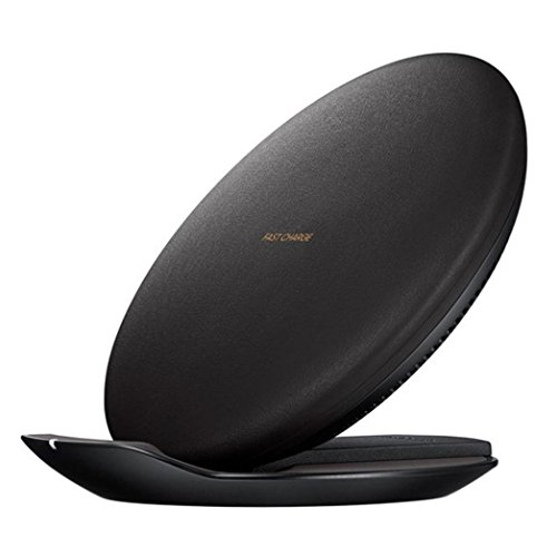 Price comparison product image Mchoice New Qi Fast Wireless Charger Rapid Charging Stand for Iphone 8 / 8 Plus / X (Black)