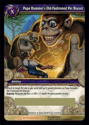 World of Warcraft Servants of the Betrayer WOW Single Card Papa Hummel's Old-...