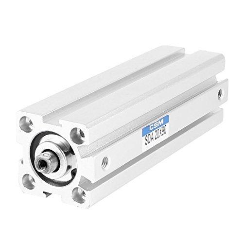 SDA20x90ダブルアクション薄い空気シリンダー空気圧制御の交換 B06XVPVQTL