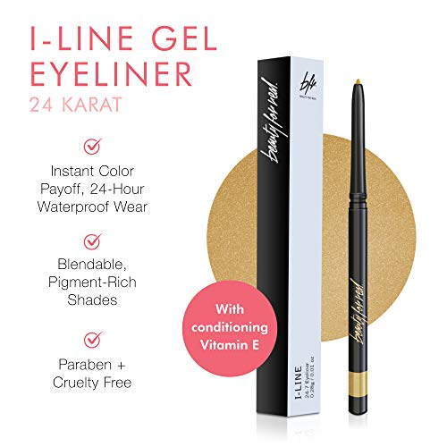 Beauty-For-Real-I-Line-24-7-Eyeliner-24-Karat-Metallic-Gold-Long-Wearing-Waterproof-Gel-Formula-Safe-for-Sensitive-Eyes-Contact-Lens-Wearers-001-oz