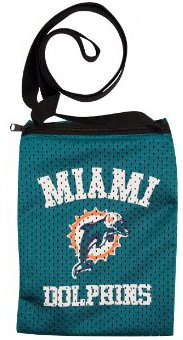 Littlearth Jersey Tote - Littlearth NFL Miami Dolphins Game Day Pouch