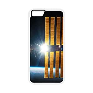 NASA Satellite Orbiting Earth iPhone 6 4.7 Inch Cell Phone Case White DIY Present pjz003_6617313