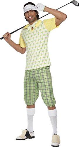 Gone Golfing Costume (Gone Golfing Costume, Green, Yellow & White)