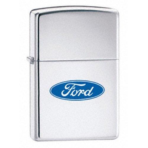 Zippo HP Chrome Ford Oval Lighter - ()