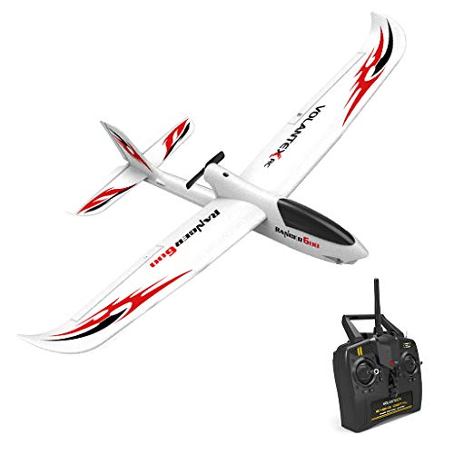 Wotryit RC Airplane with 2.4GHz 6-Axis Gyro Easy to Fly 761-2 RTF Plane for Beginners,Easy to Control, Steady Flight, Suit for Beginner.