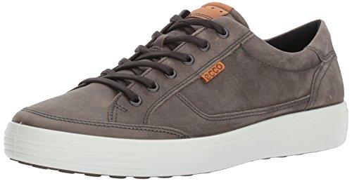 Wild Fashion - ECCO Men's Soft 7 Fashion Sneaker, Wild Dove Grey, 43 EU/9-9.5 US