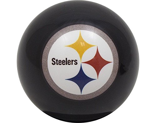 Pittsburgh Steelers Billiards Pool Cue Ball 8 at Steeler Mania