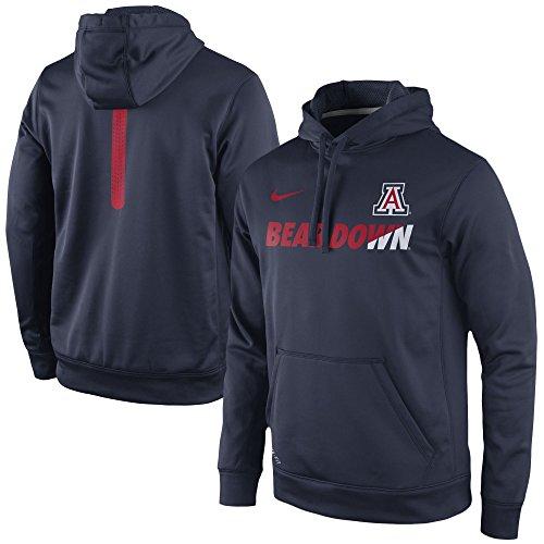 Arizona Wildcats Nike Therma-Fit Sideline KO Hoodie Sweatshirt (XX-Large) (Nike Arizona Wildcats)