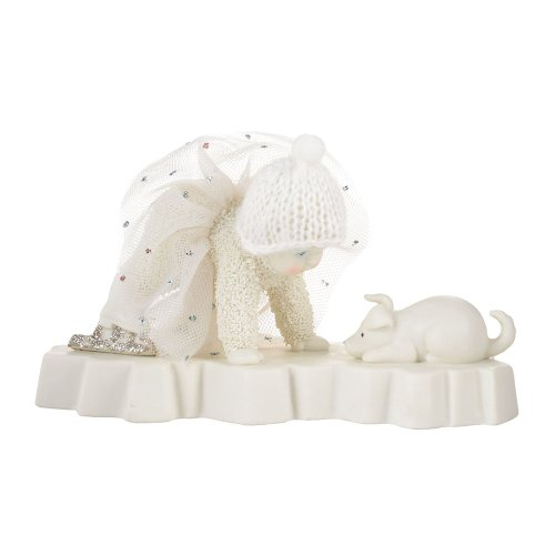 Department 56 Snowbabies Dream Collection Difficulty on Ice Figurine, 3.35 inch