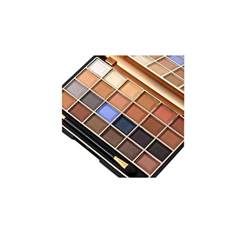 MISS ROSE 24 Colors Cosmetic Eyeshadow Palettes Eye Beauty Makeup Plate by VESNIBA