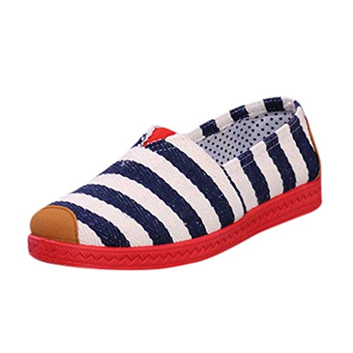 kaifongfu Canvas Work Shoes Women Soft Leisure Flats - Canvas Armoire