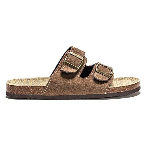 Muk Luks Heren Parkerschoen Voor Heren Fashion Sneaker Bruin