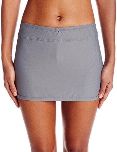 Next Women's Good Karma Lotus Skort with Bikini Bottom, Gray, Small