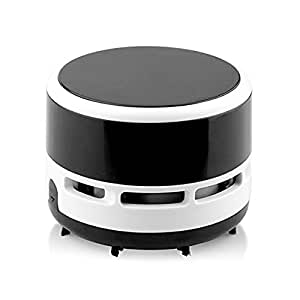 mini portable desktop vacuum cleaner cordless electronic battery operated office car. Black Bedroom Furniture Sets. Home Design Ideas
