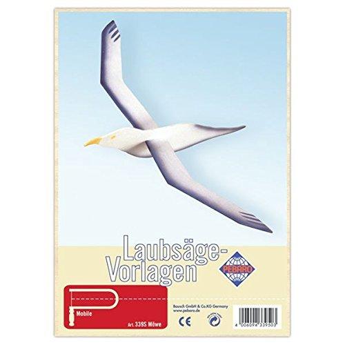 Matches21 Fliegende Möwe Holz Laubsägevorlage Din A4 Holzvorlage Für