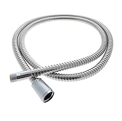 "Grohe Pull Out Replacement Hose, 46092000 - for Kitchen Faucets, (59"" Inches) Light Chrome Finish, Fits Ladylux, Euro Plus & More Models - Replacement Part by Essential Values"