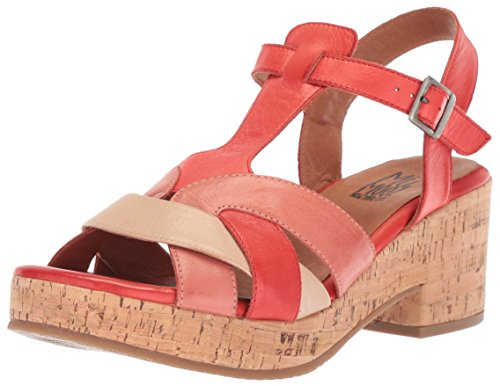 Miz Mooz WoMen Cabana Sandal Red