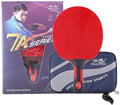 WellingA Palas Ping Pong Raqueta de Tenis de Mesa Seven Star el ...