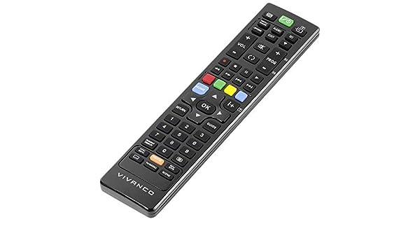 Vivanco RR 240 - Mando a Distancia (TV, IR inalámbrico, Botones ...