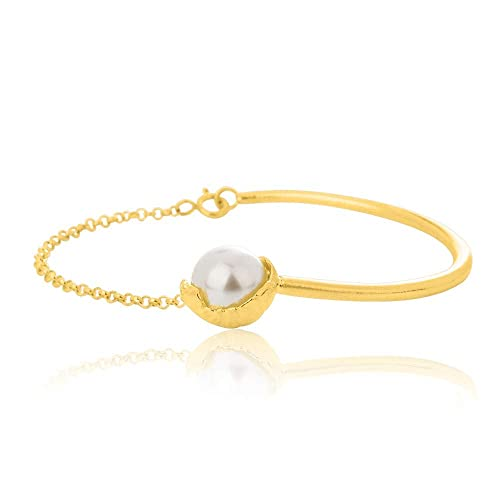 19539fc9c810 Amazon.com  SAND Collection Half Bangle Bracelet Handcrafted in ...