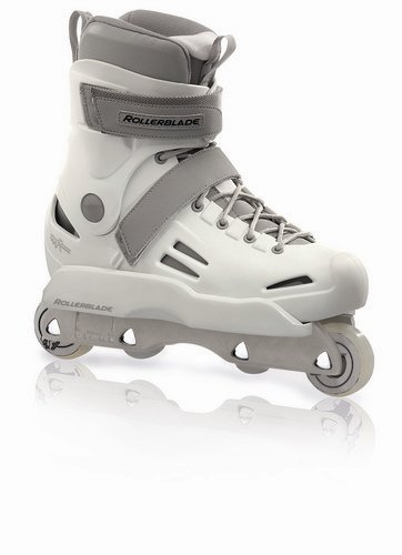 Rollerblade Men's Solo Trooper Street Skate, Pure White, Men's US 10.5