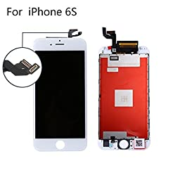 Replacement LCD Display +Touch Screen Digitizer Assembly for iphone 6S White