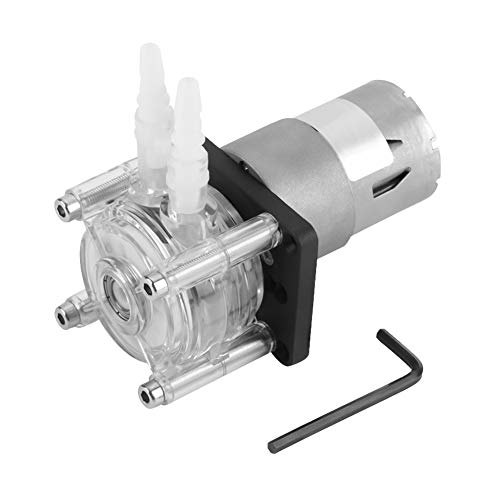 DC 12v Vacuum Pump Strong Suction Self-Priming Peristaltic Pump High Flow for Aquarium, Chemicals, Liquids and Other Dosing Additives