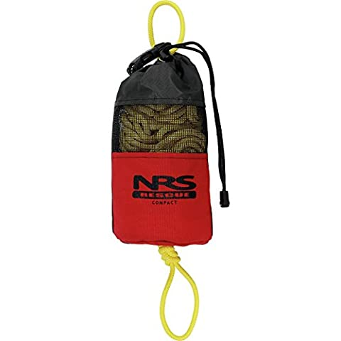 NRS Compact Rescue Throw Bag Red One Size - Throw Rope Bag