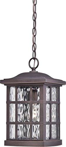 Quoizel SNN1909PN Stonington Outdoor Pendant Ceiling Lighting, 1-Light, 100 Watt, Palladian Bronze (15