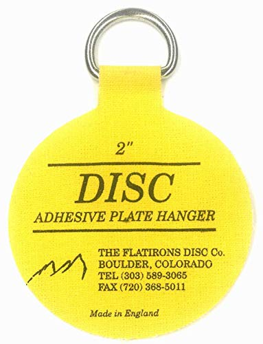- Flatirons Disc Adhesive Plate Hangers, 2 Inch, 8 Pack