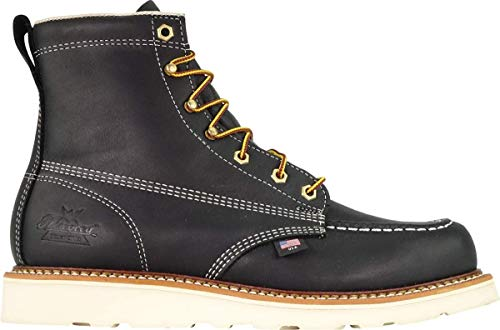 "Thorogood Men's American Heritage 6"" Moc Toe, MAXwear Wedge Safety Toe Boot"