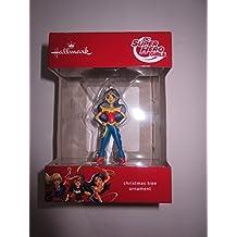 Hallmark DC SUPER HERO GIRLS WONDER WOMAN Christmas Tree Holiday Gift Ornament