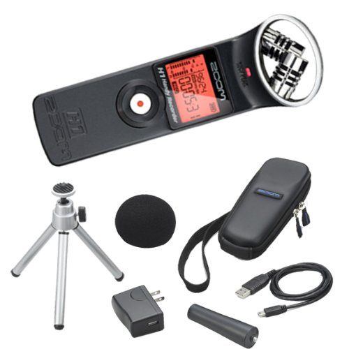 Zoom H1 Handy Recorder Plus Accessory Kit by Zoom