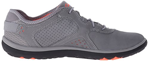 Clarks Aria Spitze Walking-Schuh Gray Leather