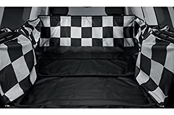Original Mini Chequered Flag Car Boot Protection Cover For Mini