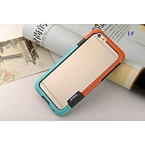 GJY Double Color Mix Hard Cover for iPhone 6(Assorted Colors) , 4#