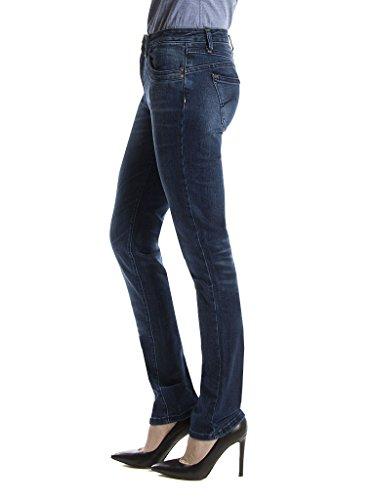 Elasticizzato Tessuto A Per Vita Look Modello Sigaretta Normale Regular Donna Vestibilità 752c0970a Full Jeans Blue Carrera Denim XSxEqwzvE