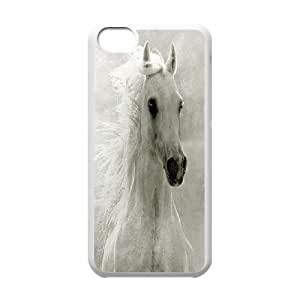 Protection Cover Hard Case Of Horse Cell phone Case For Iphone 5C by icecream design