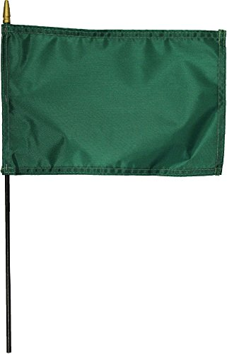Irish Green Attention Flag - Solid Color 8