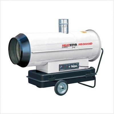- Heatstar By Enerco F151030 Indirect Heater, HS3000ID Oil Fired, 306K