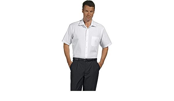 Camisa de caballero, manga corta, stretch: Amazon.es: Ropa