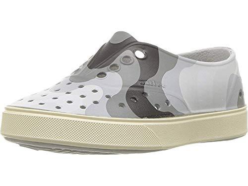 Native Kids Shoes Unisex Miller Print (Toddler/Little Kid) Mist Grey/Bone White/Dublin Wave 4 M US Toddler ()