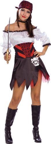 Punky Pirate - Adult Fancy Dress Costume by Rubies