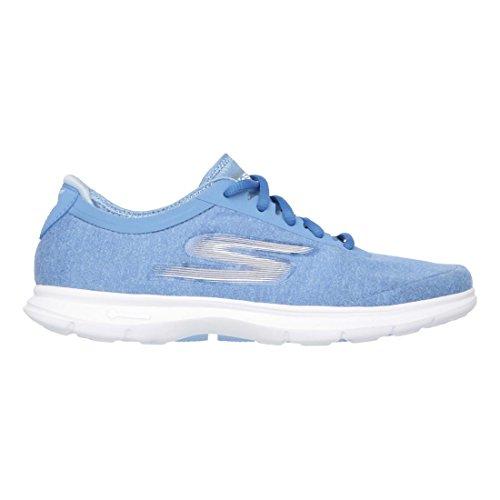 Womens Casual Skechers Sports Vital Blue Go Shoes Step qwxt8f6RP