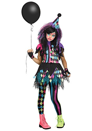 Fun World Twisted Circus Costume, X-Large, Multicolor -