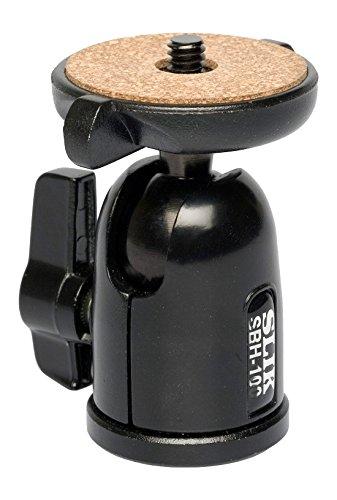 SLIK SBH-100 Medium Compact Ballhead, Supports 2.2 lbs, lbs., Black (618-610)