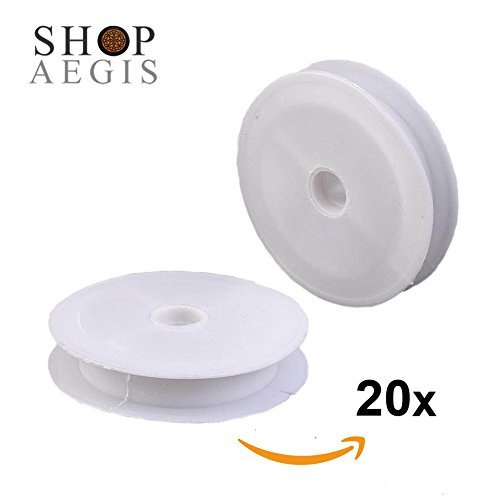 Wire Ribbon Spool (20 Pack - ShopAegis 7cm (2-6/8