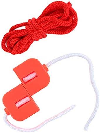 Toygogo 楽しいクラシックカット&復元ロープマジックトリックジグザグ復元されたロープおもちゃ魔術師の小道具魔法のスナップ