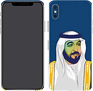 Switch iPhone X Skin Sheik Khalifa Bin Zayed Al Nahyan 1