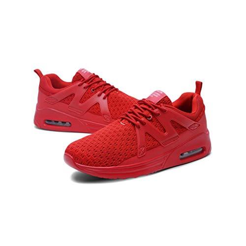 Ultraleggere Zxcvb Training Casual Uomo Running All'usura Da Da Resistente Sport Viaggi Red Walking Ginnastica Scarpe Traspirante Sneakers wPqfPx1Xr